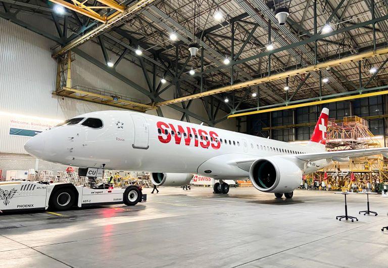 Swiss tauft Flugzeug auf den Namen «Davos»