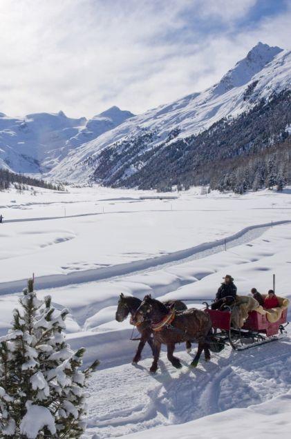 Wintertraum im Engadin