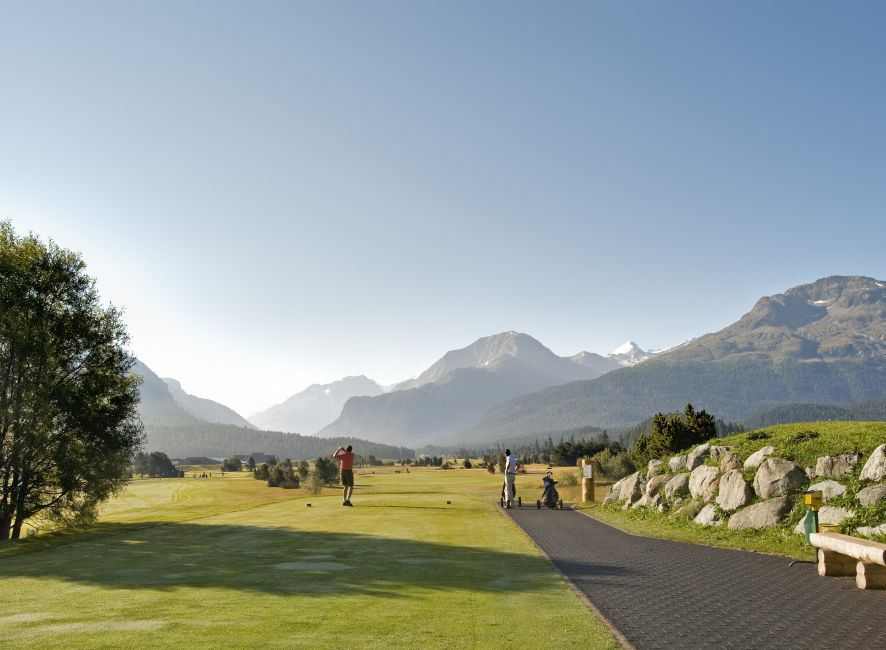 Cresta Palace - Golf Hit Engadin
