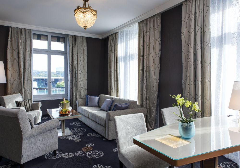 Lucerne Luxury Suite mit Sicht auf den Vierwaldstättersee