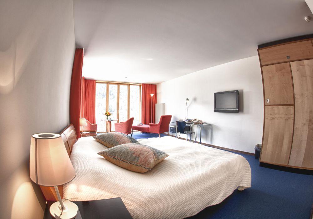 Komfortzimmer Saratz Südlage - Ela Tuff