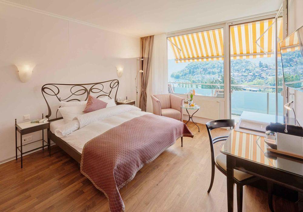 Doppelzimmer Komfort mit Seeblick