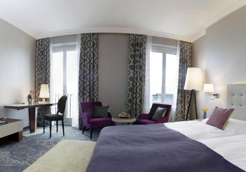 Deluxe Doppelzimmer mit Sicht auf den Vierwaldstättersee