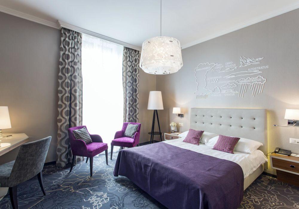 Style Doppelzimmer mit Stadtsicht