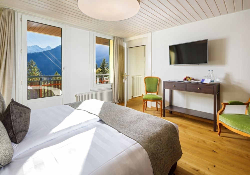 Junior Suite Jungfrau view (with balcony)