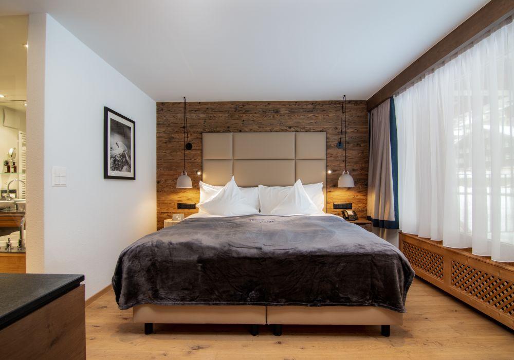Deluxe Doppelzimmer mit Gletscherblick