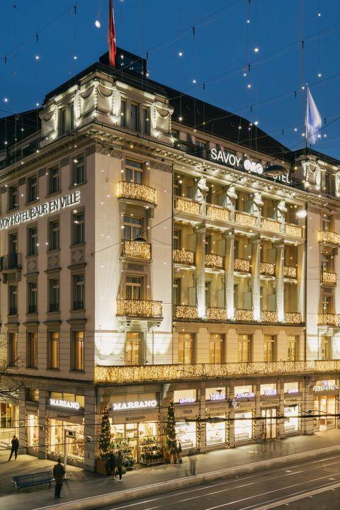 X-Mas Shopping & Culture im Savoy Baur en Ville