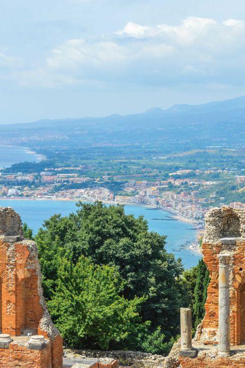 La côte est de la Sicile dans le 5* Boutique-Hotel