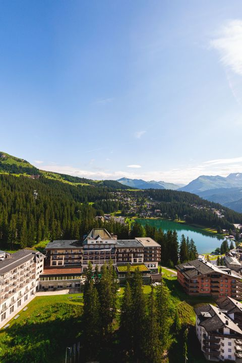 Easter days at the Waldhotel Arosa