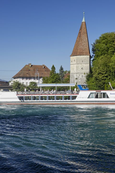 Summer on the Aare at La Couronne Hotel in Solothurn