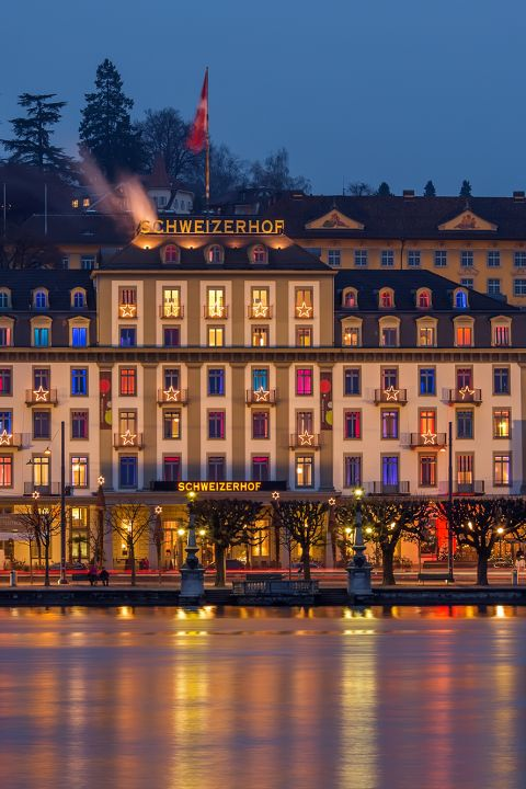 New Year's Eve Special at the Schweizerhof Lucerne