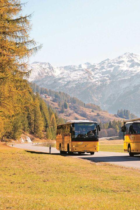 Kreuzfahrt durch Graubünden
