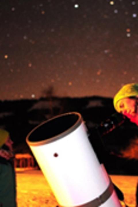 Scintiller à Lauenen - Fascination du ciel étoilé à l'hôtel Alpenland