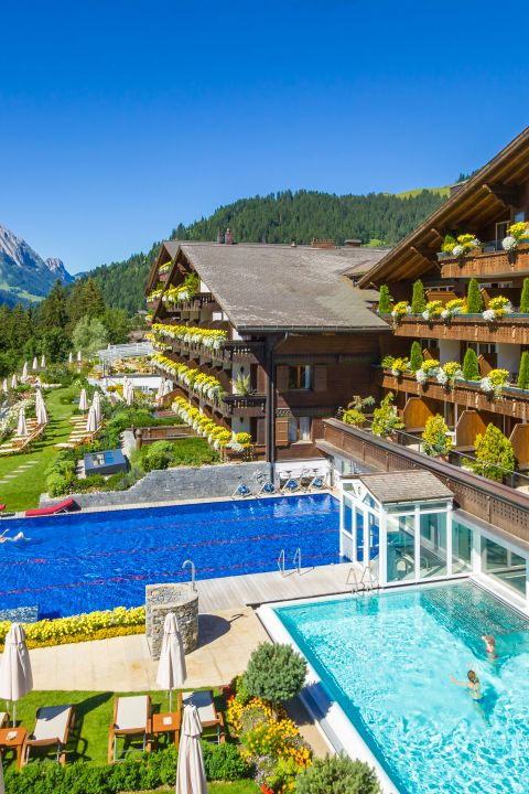 Pleasure Hiking in Gstaad - Schönried - Ermitage Wellness- & Spa - Hotel