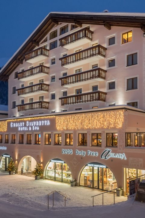 4 = 3 WINTER SPECIAL at the Chalet Silvretta Hotel & Spa