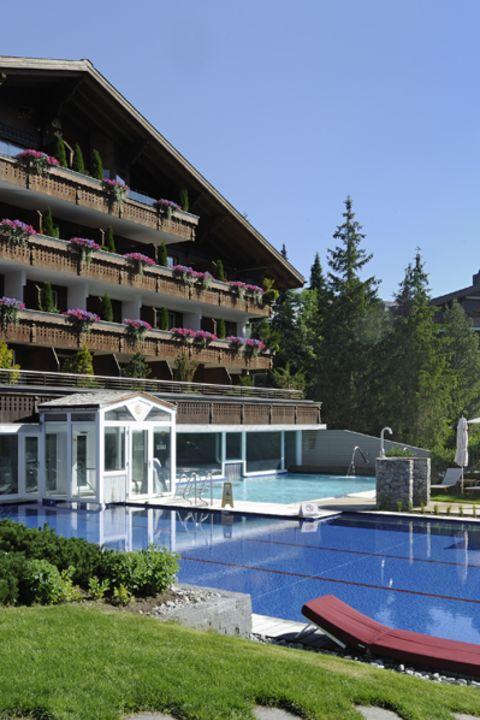TCS - Ermitage Wellness- & Spa-Hotel, Gstaad-Schönried