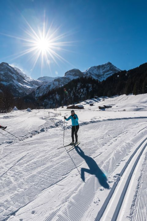 Cross-country skiing with 1 hour lesson - Hotel Alpenland