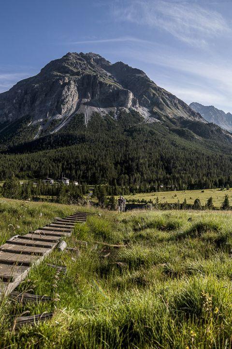 Autour du parc national suisse