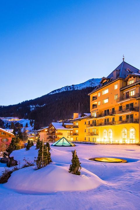 Winter Wellness Zauber im Hotel Vereina