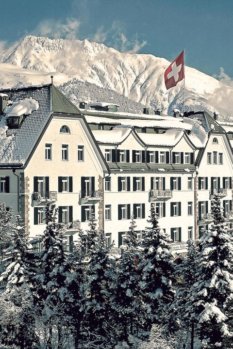 4 for 3 Winter Special in the winter wonderland Engadin at the Cresta Palace Hotel