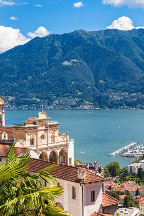 HEV - Wanderferien mit Blick auf den Lago Maggiore
