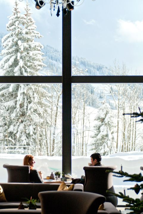 Pure skiing pleasure at ERMITAGE Wellness & Spa Hotel