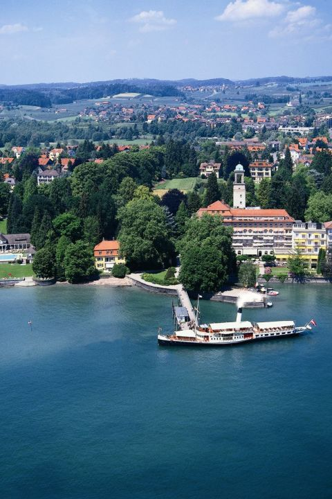 Lake Pleasure in the Hotel Bad Schachen in Lindau at Lake Constance