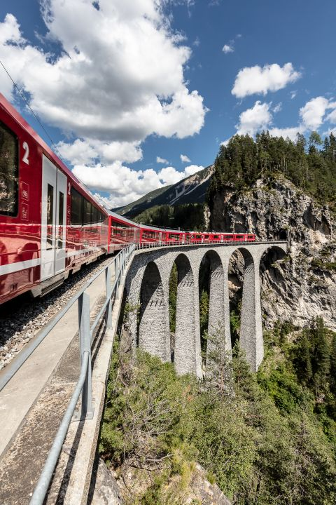 Train Tour through Switzerland