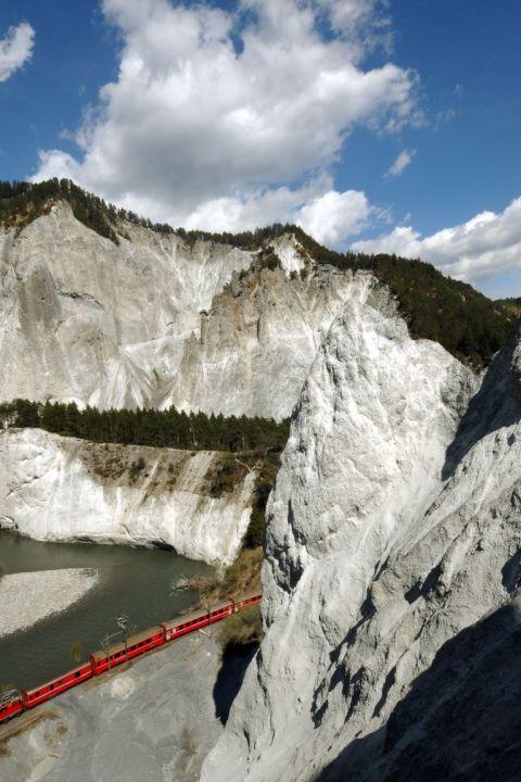 HEV - Sommer-Genuss mit dem Glacier Express