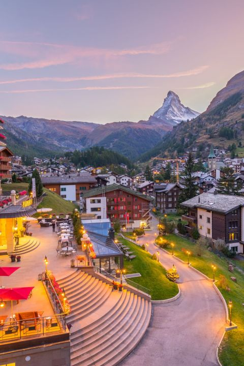 Zermatt Mountain Magic