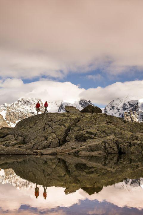 HEV - Erholen, geniessen und schwerelos wandern: Vielfältiges Oberengadin
