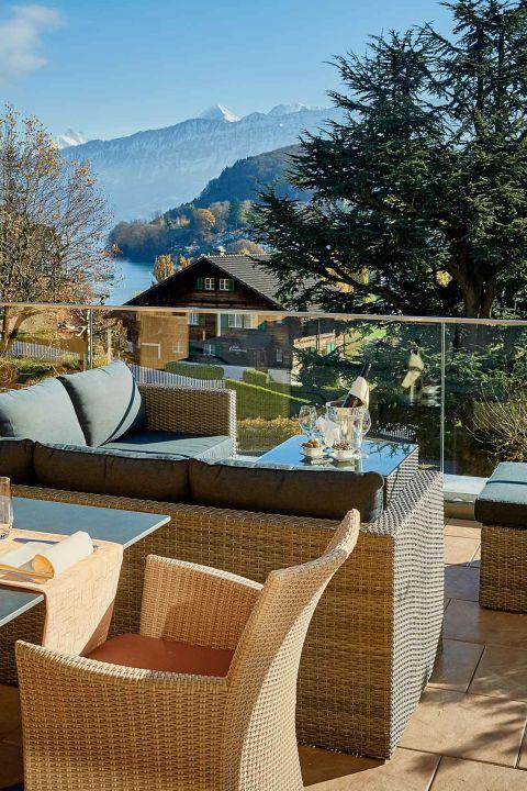 Hotel Eden Spiez: Goldener Herbst 4=3 Übernachtungen