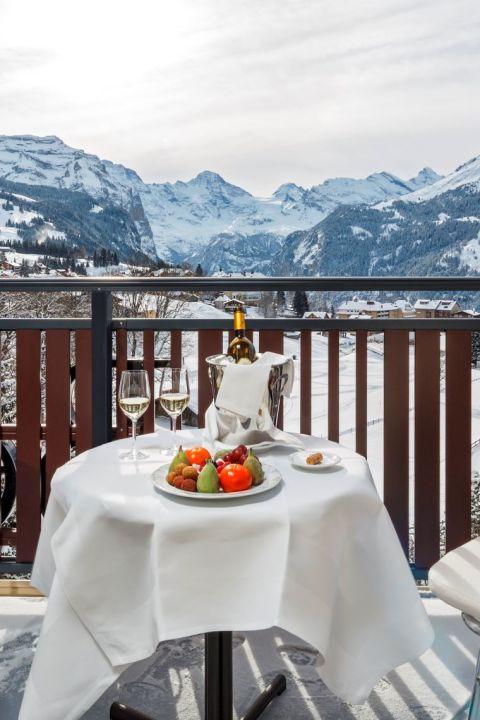 Jungfrau und Lauberhorn erleben im Beausite Park Hotel Wengen