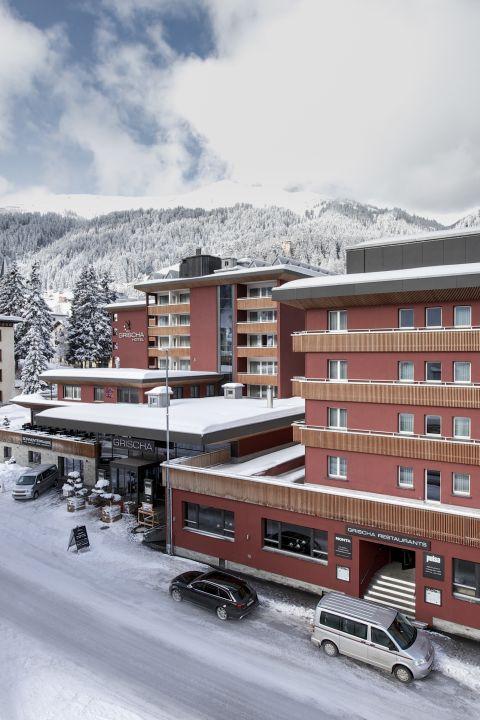 TCS - Romance culinaire et hivernale à Davos