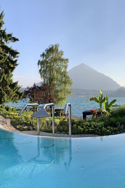 TCS - Se détendre sur la Riviera du lac de Thoune à l'hôtel Beatus Wellness & Spa