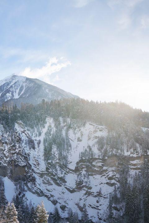 Winter-Genuss mit dem Glacier Express