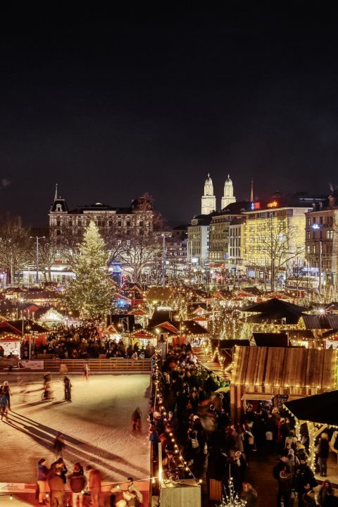 Christmas special in the heart of the city of Zurich