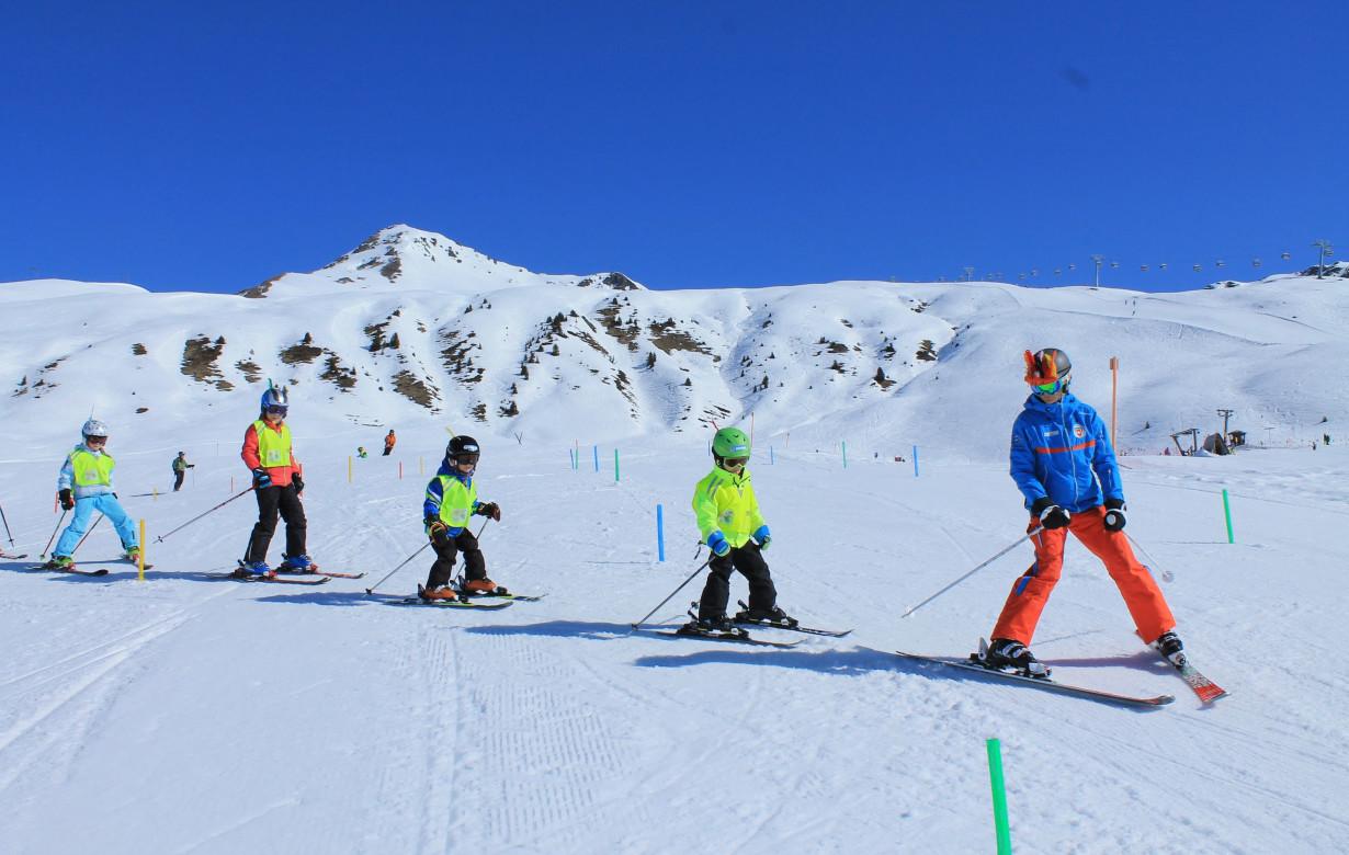 Kinder Ski Halbtags  Blue League