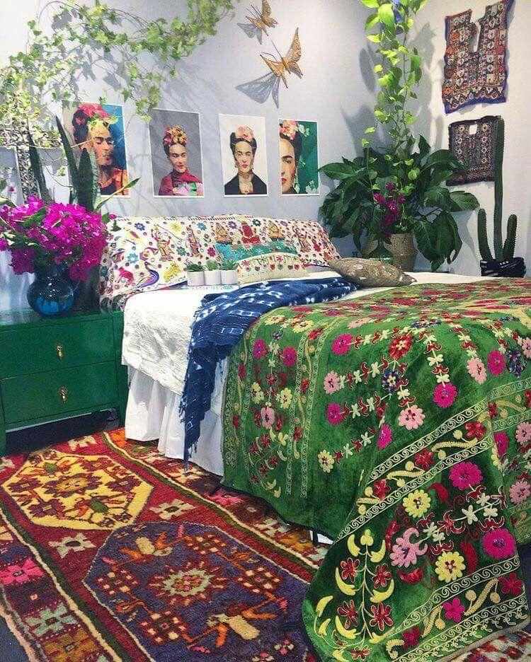 Ispirazione sud america - camera da letto home decor