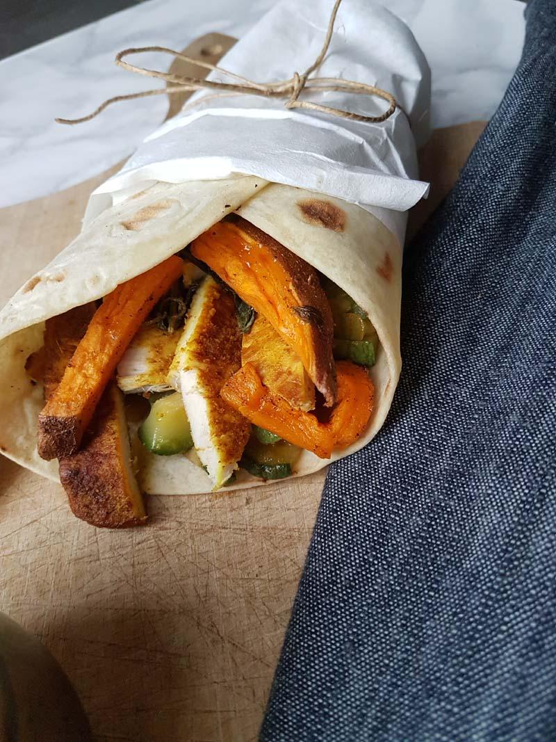 Pollo shawarma - ricetta