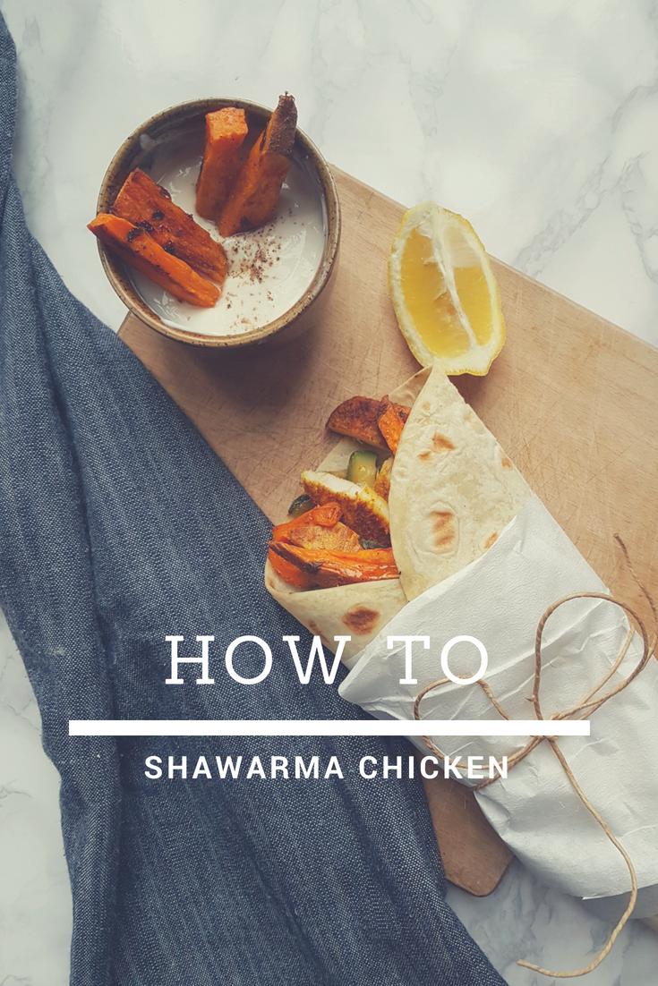 Pollo shawarma - how to shawarma chicken