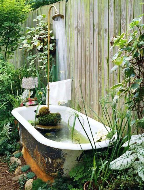 Giardini acquatici - la vasca da bagno