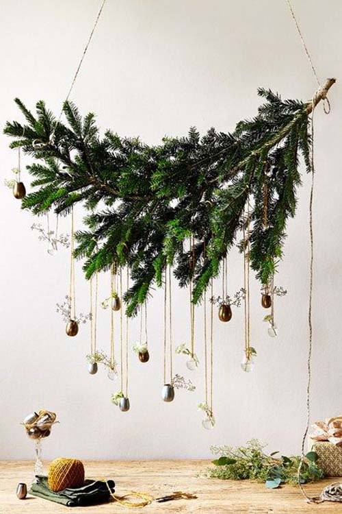 Decorazioni natalizie - abete