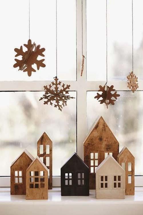 Decorazioni natalizie - in legno