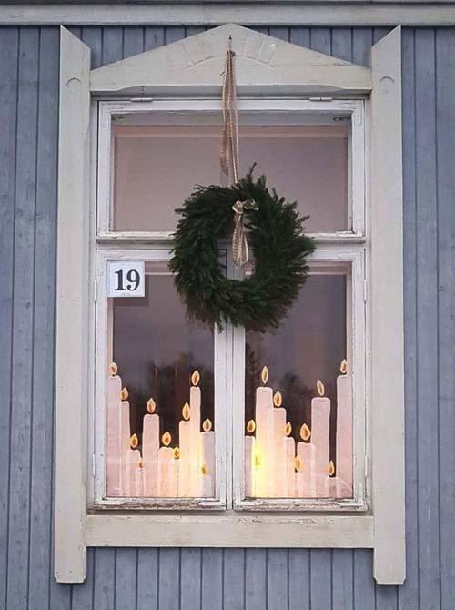 Decorazioni natalizie - per spazi piccoli