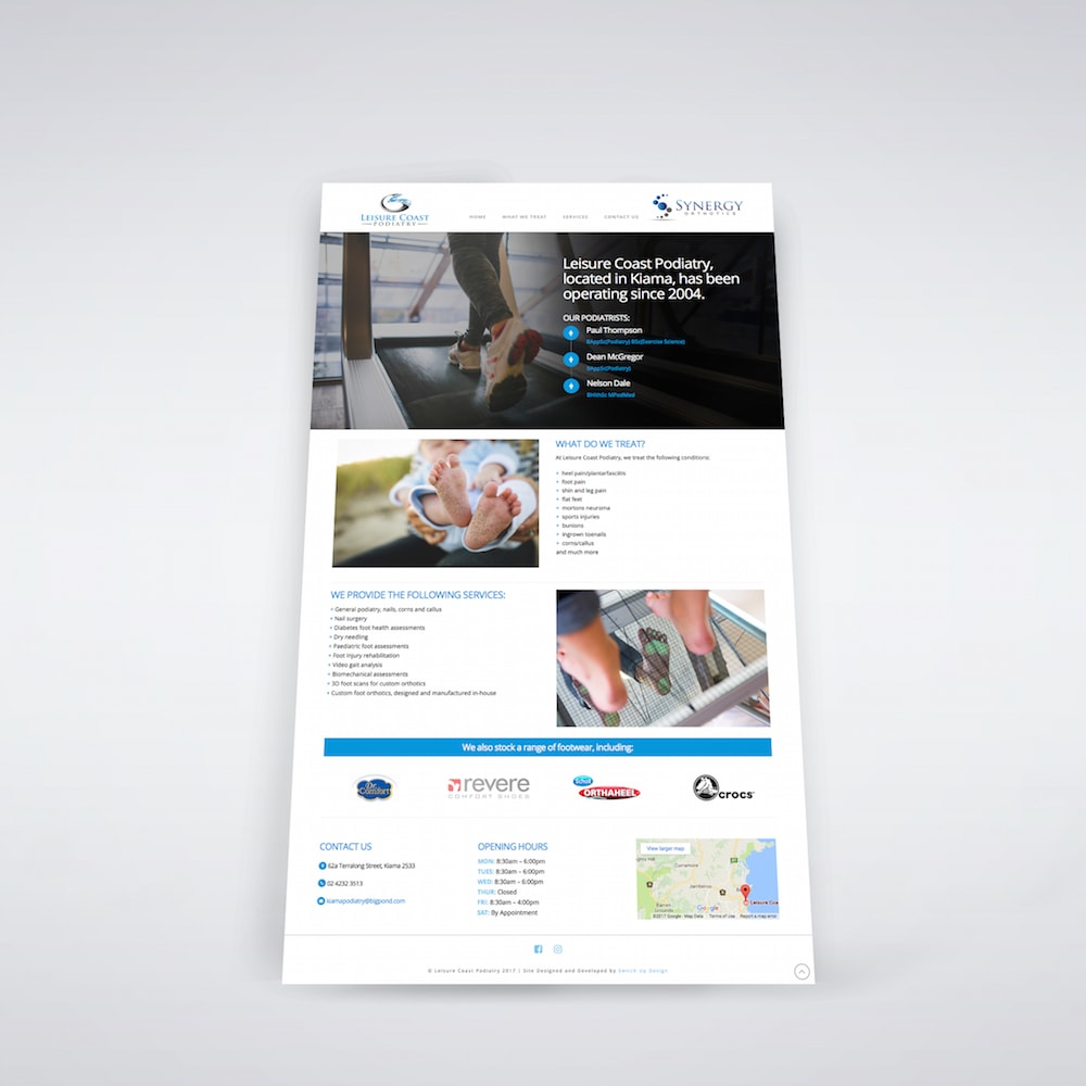 Website Design & Development for Modified Driving Solutions