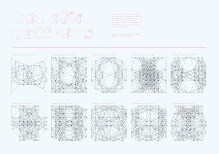 The final genetic grid posters