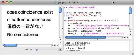 Translating magic