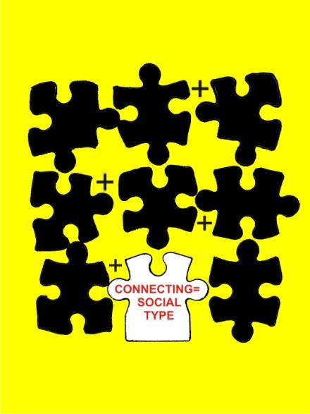 puzzle idea,connection