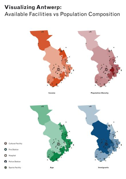 Visualizing Antwerp - poster